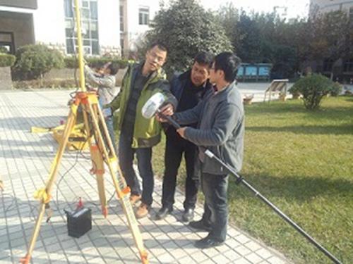公路工程系开展gps测量技术培训活动